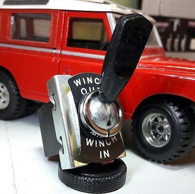 Land Rover Serie 1 2a 3 Cabrestante Eléctrico en Y Fuera Tipo...