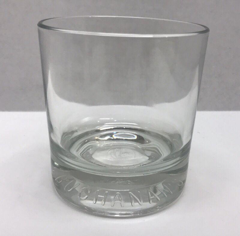 Buchanan's De Luxe Liquor Whiskey Double Old Fashion Rock Heavy Glass Tumbler