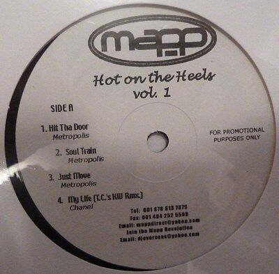 "HOT ON THE HEELS - PROMOTIONAL 12"" VINYL"
