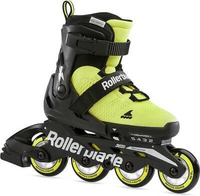 ROLLERBLADE Kinder Inliner Skates MICROBLADE SE Inline Skate 2021 neon