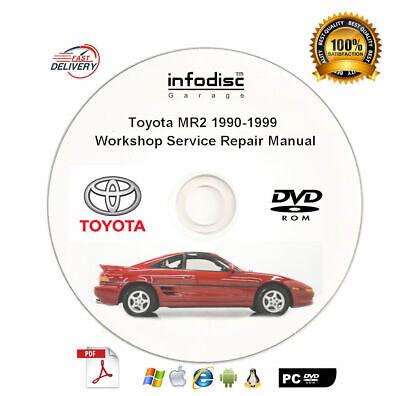 2003 Toyota MR-2 Shop Service Repair Manual Book Engine Drivetrain OEM