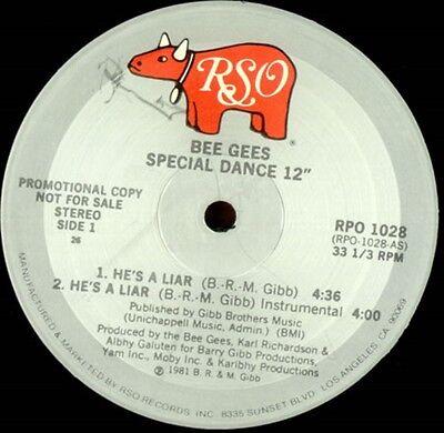 671d980dfe89 Bee Gees He s a Liar 2 mixes - US DJ 12