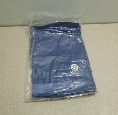New Ansell Vinyl Coat Apron 56-903 Blue Size Medium