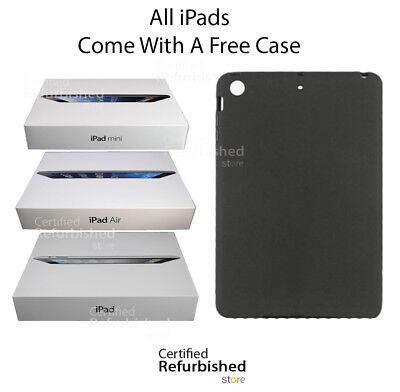 Apple iPad 2,3,4 Mini Air 16GB 32GB 64GB 128GB WiFi+Cellular 3G/4G ---- BUNDLE
