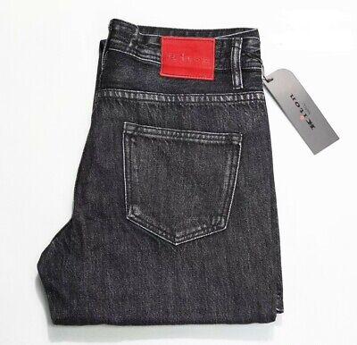 Kiton Jeans True Cotton Stretch Luxury Medium Washed Black Jeans Size 33/33 NICE True Black Jeans