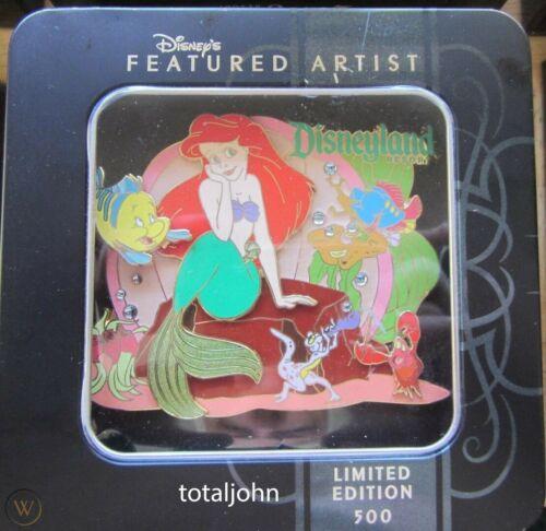 Disney DLR Featured Artist Ariel Little Mermaid Part of Your World Jumbo Pin
