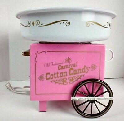Nostalgia Electrics Cotton Candy Machine Maker Kids Party Carnival Pink