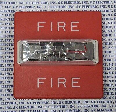 Wheelock Rss-24mcw Fire Alarm Strobe