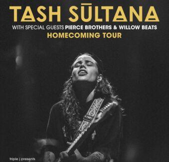 1 x General Admission Tash Sultana ticket - Melbourne