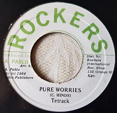"Tetrack Pure Worries Killer Digi 7"" Listen !"