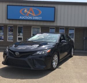 2018 Toyota Camry L LEATHER, BACKUP CAMERA, NEW WHEELS ON ALL...