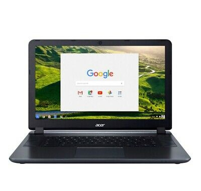 "Acer 15.6"" Chromebook Intel Antom X5 4G Memory - 16GB eMMC Flash Memory - Grey"