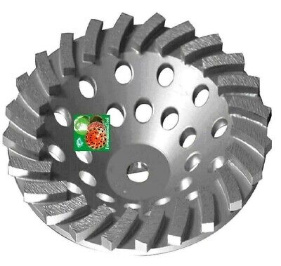 7x24seg Spiral Turbo Abrasive Diamond Cup Wheel Concrete Grinding 58-11best