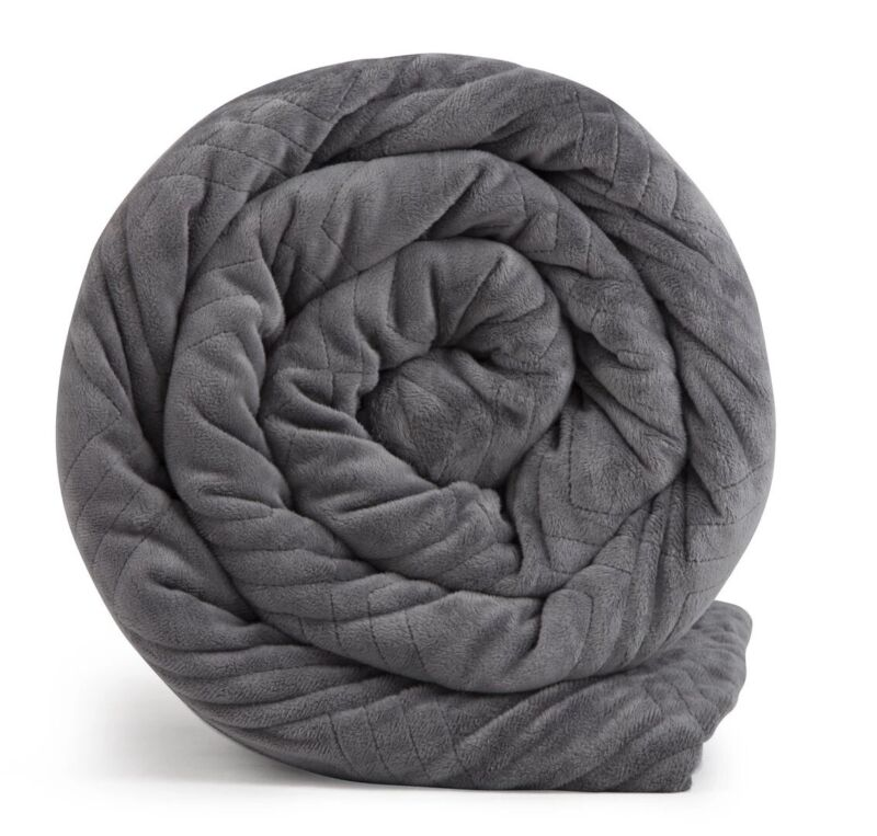 New Hush Blanket Classic Luxuriously Soft 90x90 30 lb King Weighted Blanket
