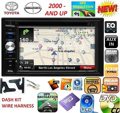 TOYOTA & SCION GPS NAVIGATION SYSTEM Dvd CD USB VIDEO Bluetooth Car Radio Stereo