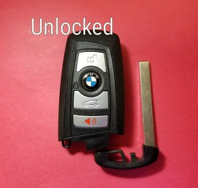 Unlocked OEM BMW Smart Key 4B YGOHUF5662 - Read Description