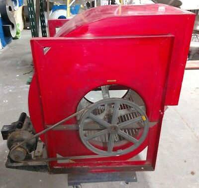 Reclaimed Vintage Industrial Squirrel Cage Blower Schwitzercummins. History