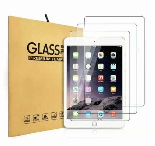 3 Pack TEMPERED GLASS Screen Protector for Apple iPad Mini 4/5 4th 5th Gen 7.9