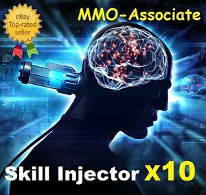 EVE online Large Skill Injector x10 | Worth ~7.6 Billion isk  | PLEX