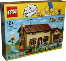 Lego 71006 The Simpsons House (NEW Sealed) Homer Bart Marge Lisa Indooroopilly Brisbane South West Preview