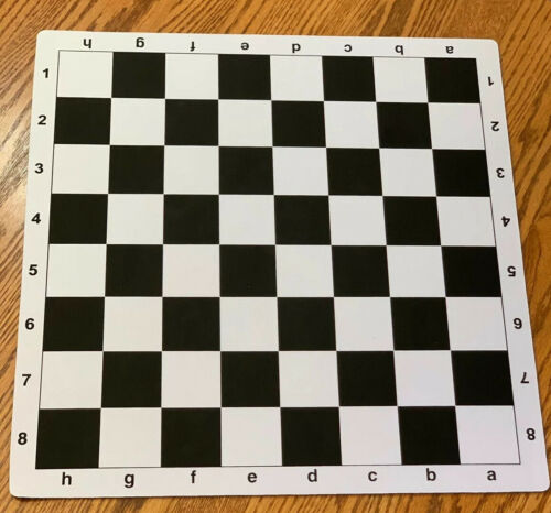 Buy Best Tournament Chess Set Triple Weighted Pieces EXTRA QUEENS 20 x 20 Mousepad Board.