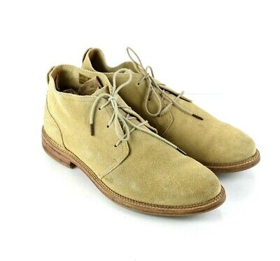 J Shoes Monarch Tan Suede Chukka Boots