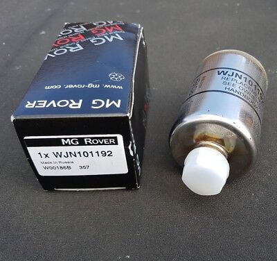 MGF MGTF Fuel Petrol Filter WJN101192. Genuine Part Supplied By X Part. Boxed.