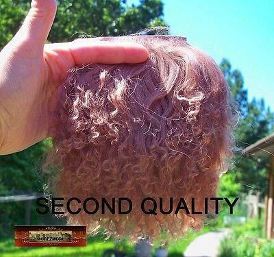 M00005 MOREZMORE Hair Tibetan Lamb Seconds CAMEL BROWN Doll Baby Hair A60