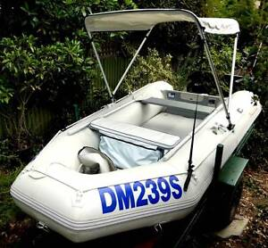 Island Star 3.3 inflatable, almost new Yamaha 5hp o/b Wayville Unley Area Preview