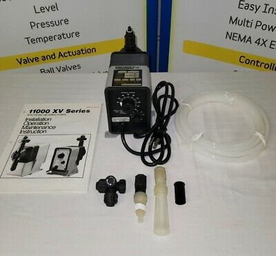 Pulsafeeder Metering Pump - New - 22 Gpd 100 Psi 115 V Vb04s1ktc1xxx