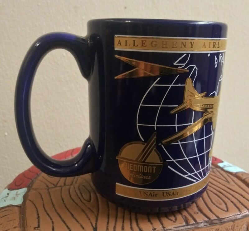 Piedmont airlines collectible MUG RARE US AIR