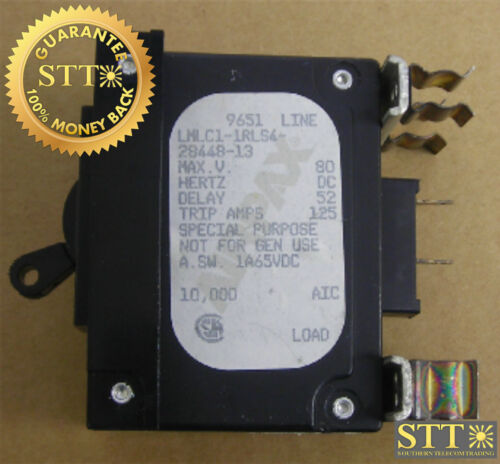 Lmlc1-1rls4-28448-13 Airpax 100 Amp Snap In Breaker