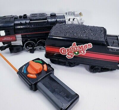 """Lionel """"A Christmas Story"""" G-Scale Train (Battery Operated) with Remote"""