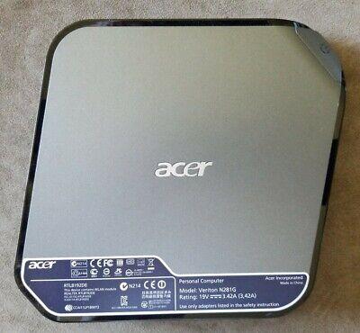 ACER Veriton N281G Mini Desktop w/ Intel Atom D425 1.80GHz 2GB RAM *No HDD OS AC