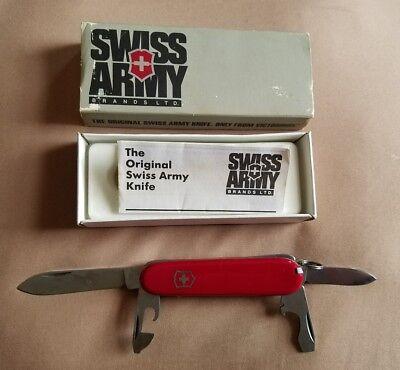 Swiss Army Knife Victorinox Original Recruit Original Box Vintage