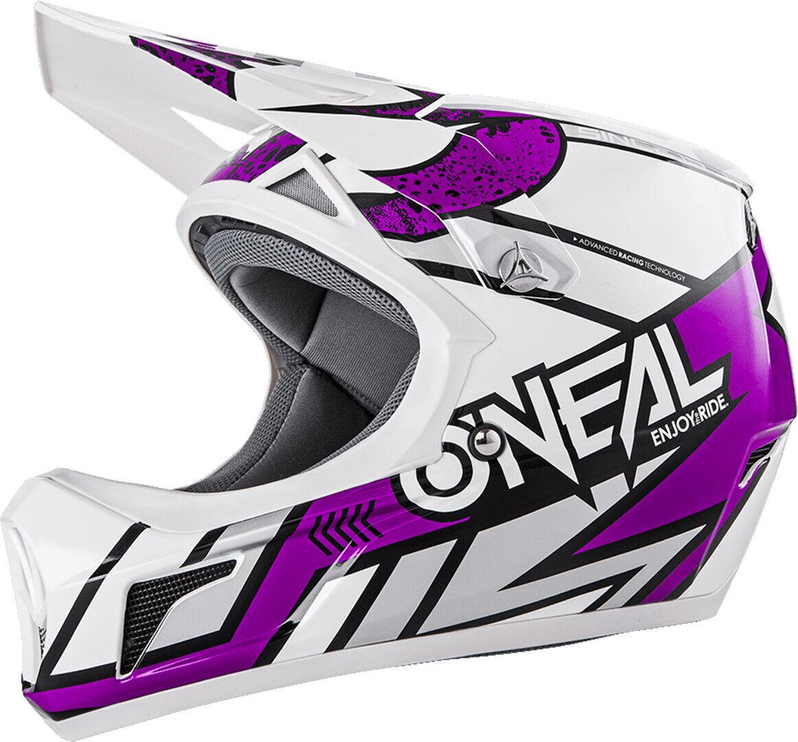 O`Neal Sonus Strike  Fullface Helm Downhill FR Dirt  purple ONEAL Gr. XL 61-62