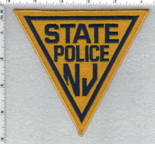 New Jersey State Police Shoulder Patch version 4