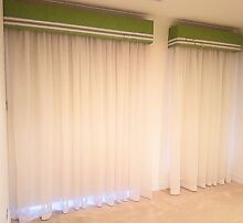 Top Quality Window Drapes and Curtains, including Tracks. Glengowrie Marion Area Preview