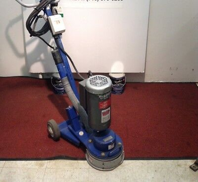 Used Blastrac Bgs-250-115 Surface Grinder Tile Removal Floor Stripping Scraper