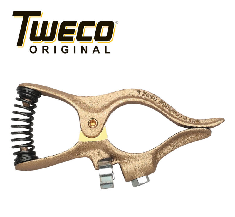 Genuine Tweco 200 Amp Welding Ground Clamp Copper, GC-200, 9205-1120
