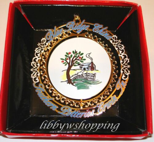 Blue Ridge Pottery Homeplace 2010 Christmas Ornament New/Unopened