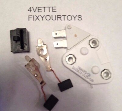 NEW ONE 1 WIRE VOLTAGE REGULATOR KIT for DELCO 10SI 12SI GM ALTERNATOR - 1 Wire Kit