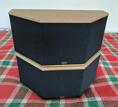 Pair of Klipsch SS1 Black Surround Speakers 100W - Retail price $400