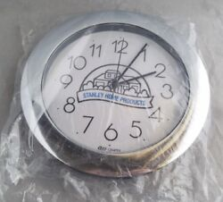 La bruyere Stanley Home Products Clock Quartz Collector Advertising Top Wall