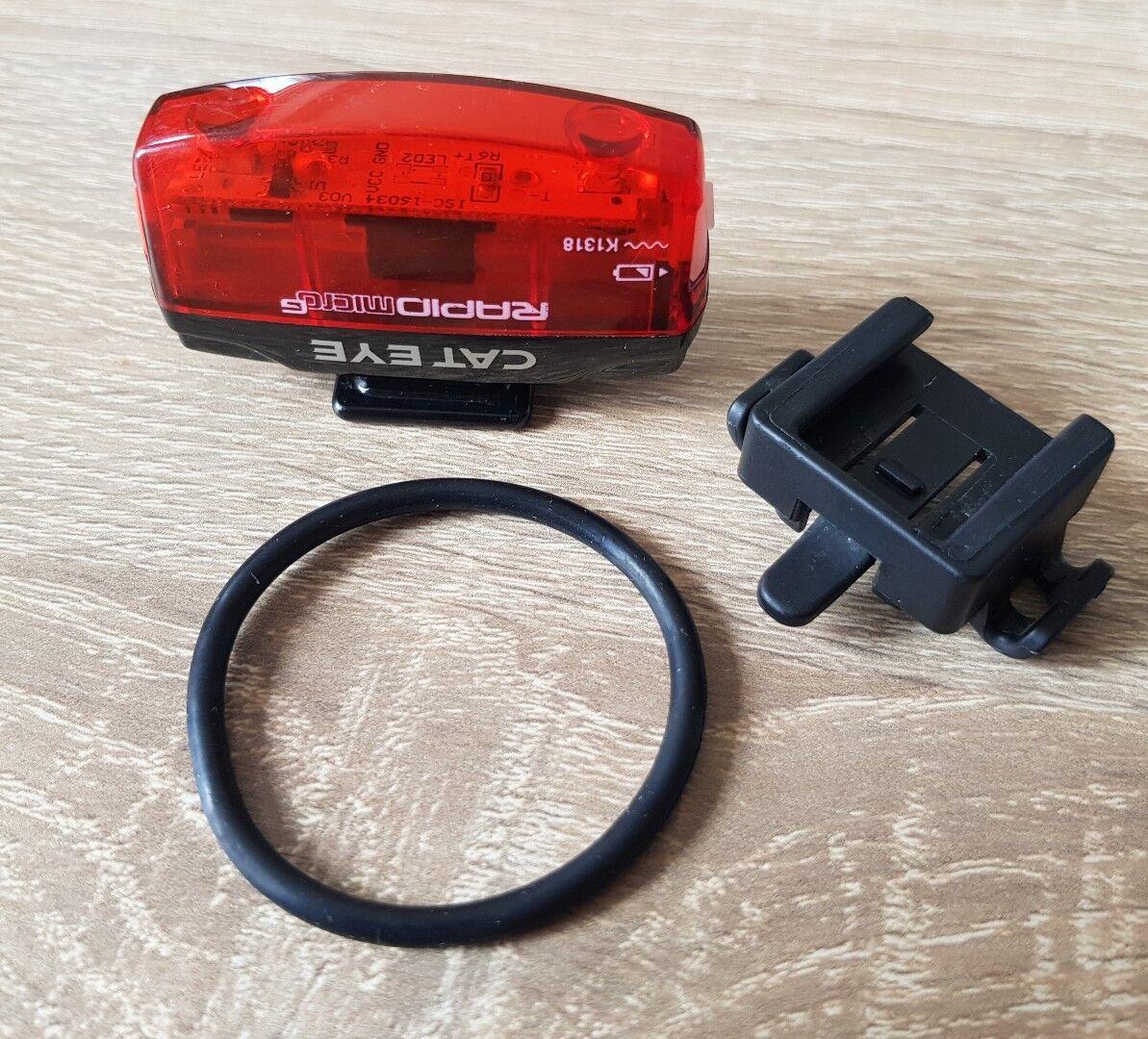 Beleuchtung & Reflektoren Cateye Rücklicht Rapid Micro G TL-LD620G