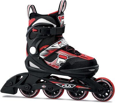 FILA Kinder Inliner Skates J-ONE Inline Skate 2021 black/red Inline Rollschuhe