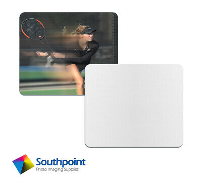 Mouse Pad Sublimation 3mm Rectangle With Rubber Base Polyester Surface