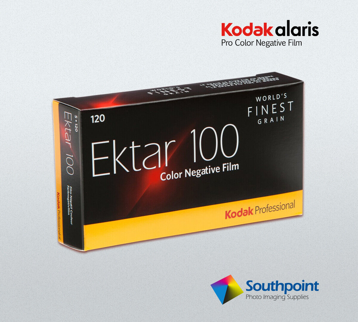 Kodak EKTAR 100/120 ProPack 5 Rolls CAT # 8314098 Free Shipp
