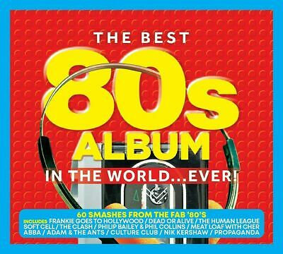 THE BEST 80s ALBUM IN THE WORLD...EVER! 3 CD SET (Released 15/05/2020)