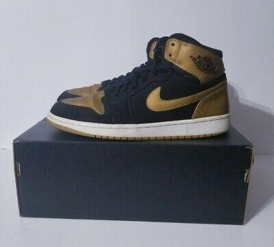 Nike Air Jordan 1 Retro Melo PE Size 10 Black Gold 332550-026 Carmelo Anthony